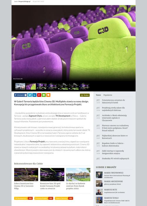 Kino Cinema 3D w Galerii Tarnovia. Des_ - http___www.propertydesign.pl_archit